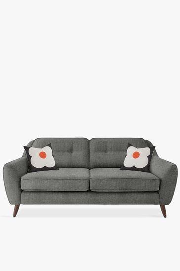 Orla Kiely Grey Laurel Large Sofa