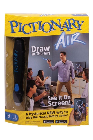 Mattel Games Pictionary Air Family Drawing Game, Links to Smart Devices