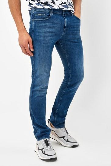 BOSS Blue Delaware Slim Fit Jeans