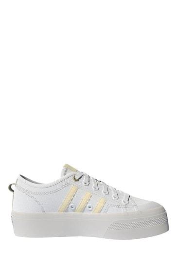 adidas Originals Cream Trainers