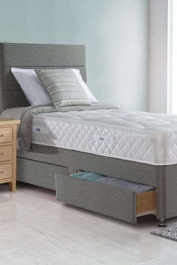 Firm Orthopaedic Mattress And Divan By Sealy