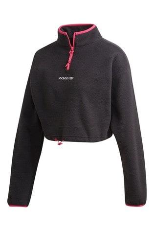 adidas Originals Polar Fleece Printed 14 Zip Top