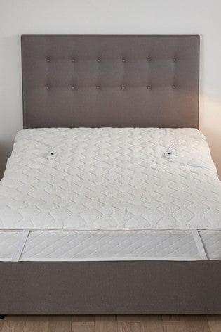 Silentnight Heated Teddy Fleece Mattress Topper Electric Blanket