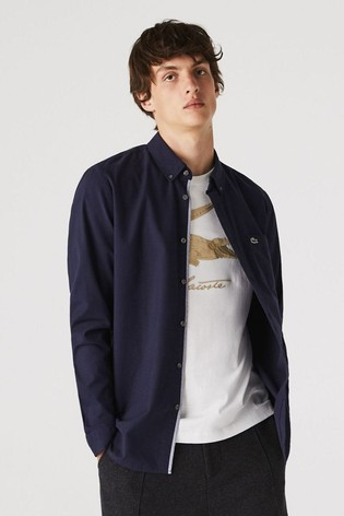 Lacoste® Long Sleeve Oxford Shirt