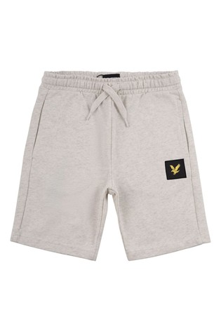 Lyle & Scott Boys Grey Casual Classic Heavy Jersey Shorts