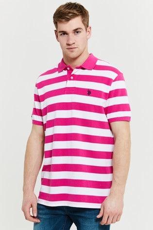 U.S. Polo Assn. Stripe Polo Shirt
