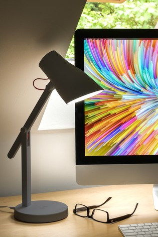 Koble Grey Pixi Phone LED Wireless Charging Lamp