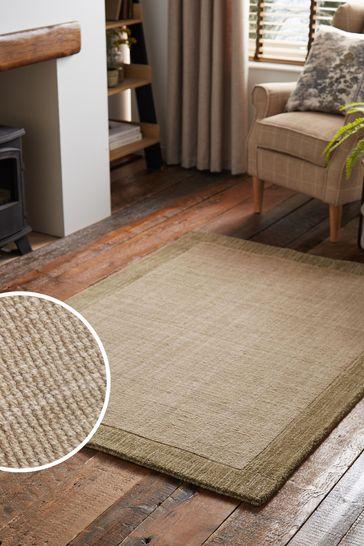 Sage Green Darcy Wool Rug