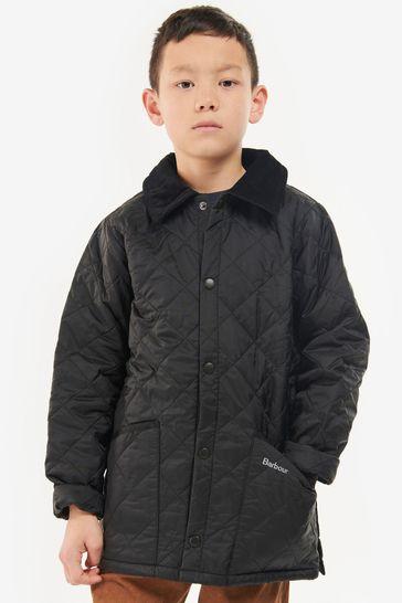 Barbour® Navy Quilt Liddesdale Jacket