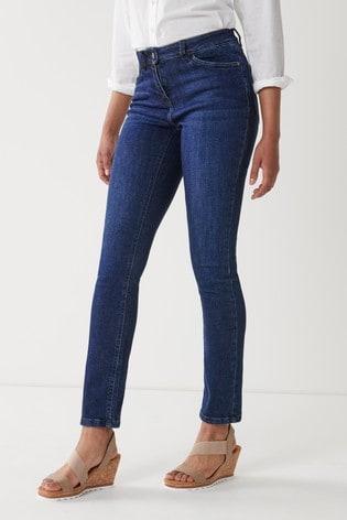 Dark Blue Hourglass Slim Jeans