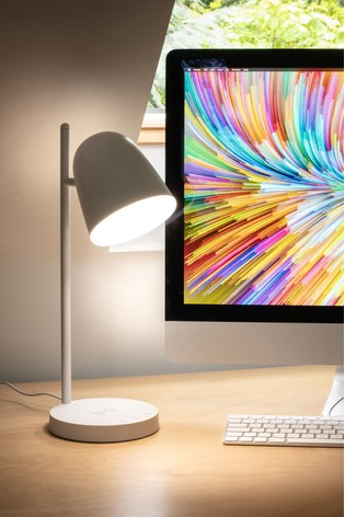 Koble White Polestar LED Phone Wireless Charging Lamp