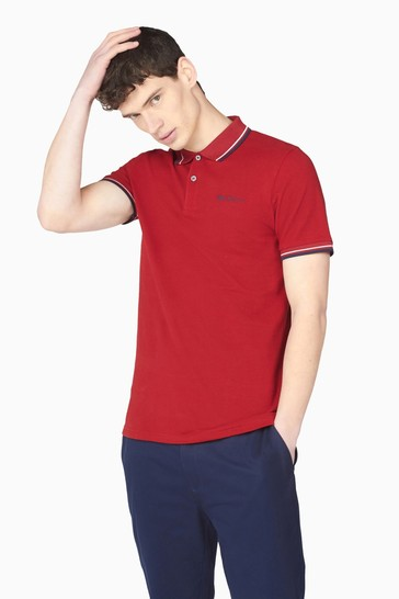 Ben Sherman Red Signature Polo