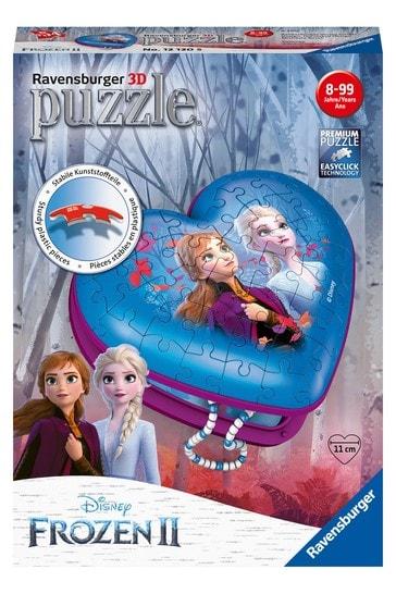 Ravensburger Disney™ Frozen 2 3D Heart Shaped 54 Piece Jigsaw Puzzle