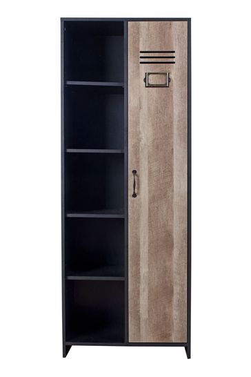 Cargo Wardrobe With Side Shelves By Lloyd Pascal