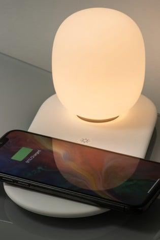 Koble White Aurora Phone Wireless Charging Night Light