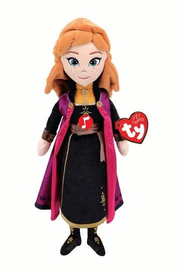 Ty Disney™ Frozen 2 Anna Medium Beanie Boo Soft Toy