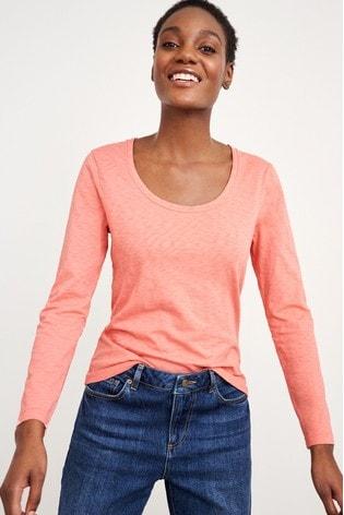 White Stuff Pink Veronica T-Shirt