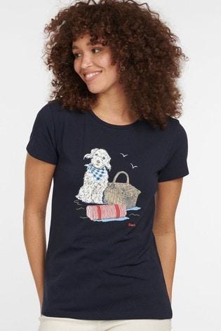 Barbour® Coastal Beacons Dog T-Shirt