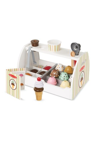 Melissa & Doug Wooden Ice Cream Counter