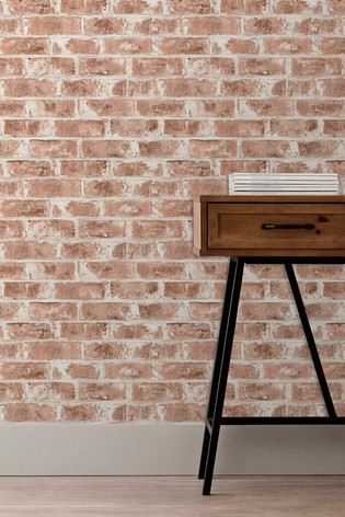 Urban Walls Red Warehouse Brick Wallpaper