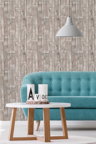 Urban Walls Natural Drift Wood Wallpaper