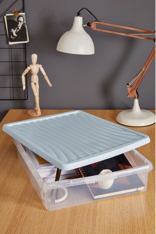 Set of 3 Wham 14.75Ltr Plastic Storage Boxes And Lids