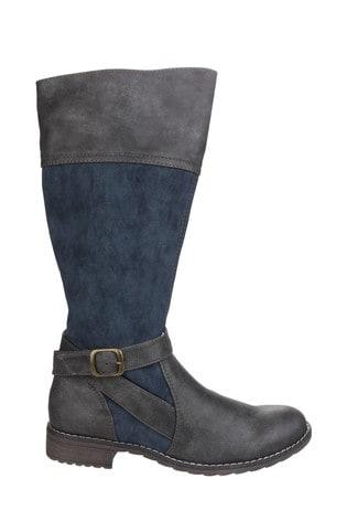 Divaz Garbo Zip Up Boots