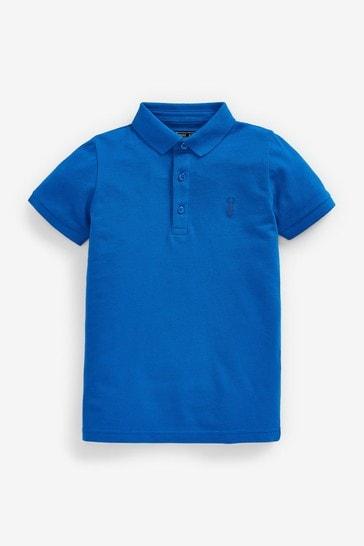 Cobalt Blue Polo Shirt (3-16yrs)