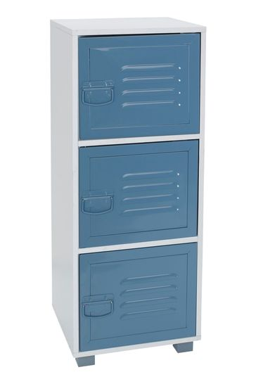 Parker 3 Door Unit With Metal Doors By Lloyd Pascal