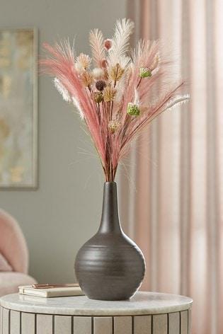 Artificial Floral in Ceramic Vase
