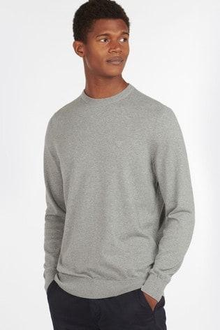 Barbour® Light Cotton Crew Neck Sweater
