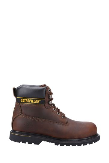 CAT® Brown Holton Lace-Up Boots
