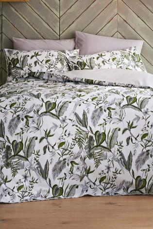 Jeff Banks Blue Pour La Maison Pessac 200 Thread Count Duvet Cover and Pillowcase Set