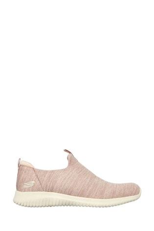 Skechers Pink Ultra Flex Gracious Touch Sport Shoes
