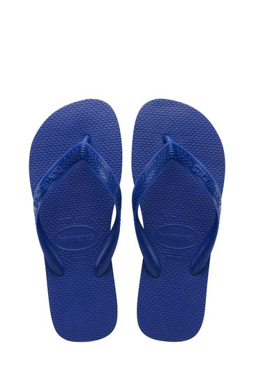 Havaianas Blue Top Flip Flops
