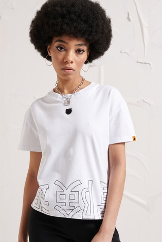 Superdry Energy Opposition Crop T-Shirt