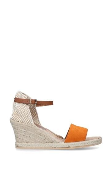 Carvela Comfort Orange Stella Sandals