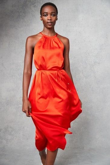 Ted Baker Roxieyy Halterneck Midi Dress