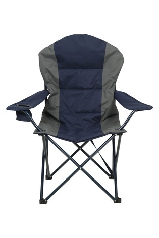 Mountain Warehouse Navy Deluxe Camping Chair