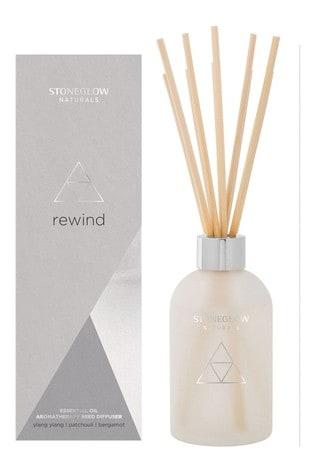 Stoneglow Naturals Rewind Ylang Ylang Patchouli Bergamot Reed Diffuser