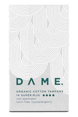 Dame Organic Cotton Tampons - Super Plus