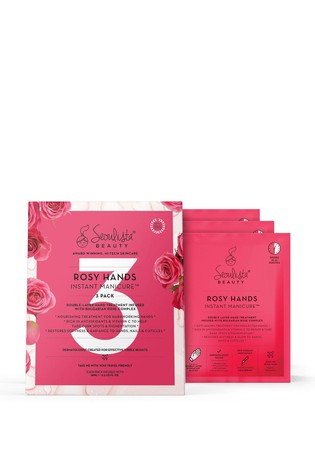 Seoulista Beauty Rosy Hands Instant Manicure Pack of 3