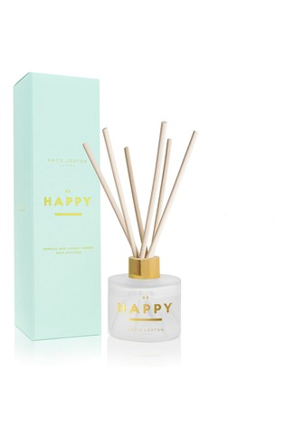 Katie Loxton Sentiment Reed Diffuser | Be Happy | Pomelo and Lychee Flower |100ml