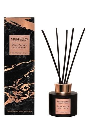Stoneglow Luna Dark Amber and Vertivert Reed Diffuser