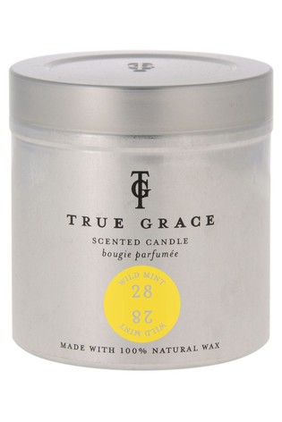 True Grace Tin Candle Wild Mint