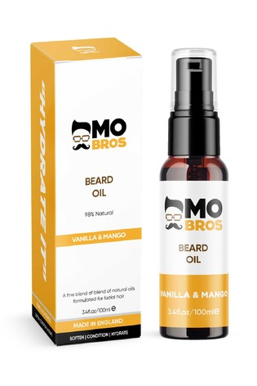Mo Bro's Premium Beard Oil Vanilla and Mango 100ml