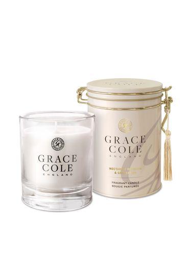 Grace Cole Nectarine Blossom & Grapefruit Candle 200g