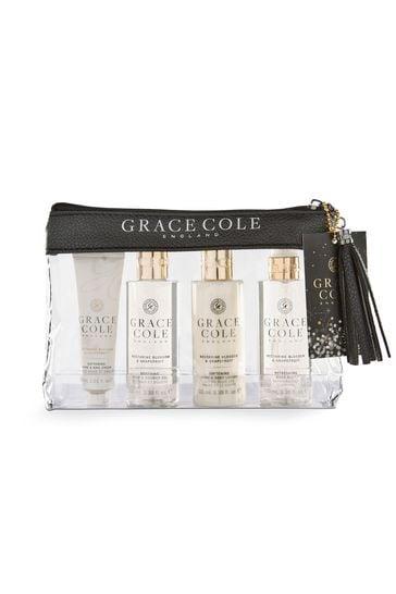 Grace Cole Nectarine Blossom & Grapefruit Travel Set