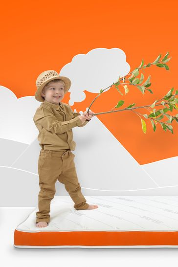 JayBe Toddler Foam Free Sprung Mattress suitable for 2+ years of age