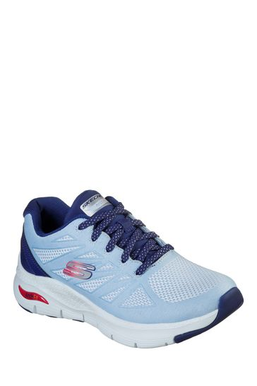 Skechers Blue Arch Fit She's Effortless Sports Trainers